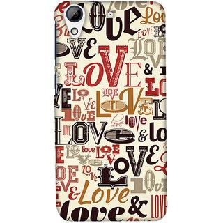 wholesale dealer 84d57 7668f PrintHaat Mobile Back Cover For HTC 728 :: HTC Desire 728g Dual :: HTC  Desire 728G :: HTC Desire 728 (Love Pattern)