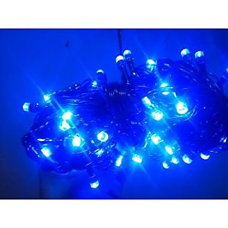 LED DIWALI LIGHT BLUE COLOR 30 FEET -9 mtr