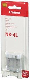 Canon NB-4L Li-ion Camera Battery for Canon SD1000 SD300 SD630 TX1 3.7V 760mAh