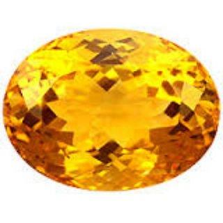 888ea6082c6b Buy 10.25 Ratti Yellow Sapphire Pukhraj Stone Original Certified Natural  Gemstone Online - Get 38% Off