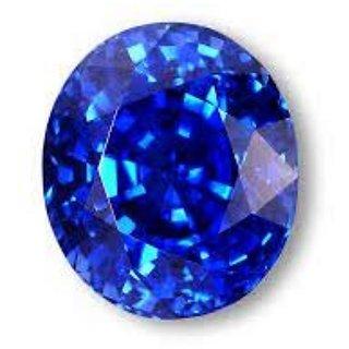 Blue Sapphire Neelam 7.25 RATTI Certified Energized Loose Gemstone