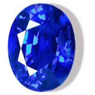 Cultured BLUE SAPPHIRE / NEELAM / SHANI of 5.5 RATTI Loose Gemstone