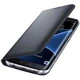 Samsung Galaxy J7 Pro Premium Grade Black Leather Flip Cover