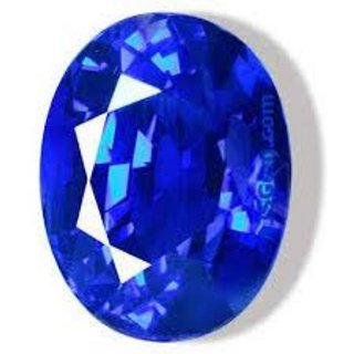 Neelam Stone Original Certified Natural Blue Sapphire Gemstone 6.5 Ratti