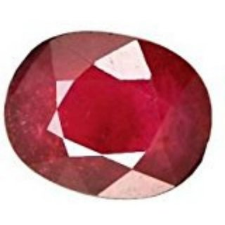 Ruby stone Original Certified Manik Kempu Natural Gemstone 6.25 Ratti