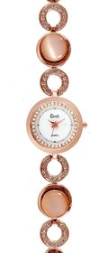 Cavalli Women's Rose Gold Analog Watch