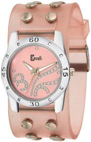 Cavalli India Pink Analog Watch