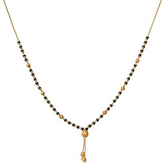 GirlZ! American Diamond (AD) Delicate Fashion Daily Wear Office Wear Mangalsutra for Women