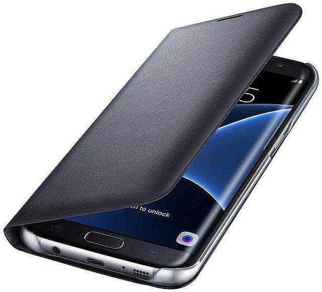 Motorola Moto E4 Plus Grade Black Leather Flip Cover