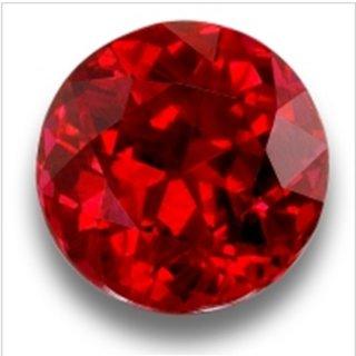 AJ Retail  GEMS Burma Ruby / Manik Lab Certified Natural Gemstone 5.25 Ratti