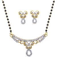 Dg Jewels 24k Gold Plated Beautiful Mangalsutra Set-CMS7007