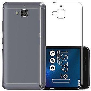 best service c4365 2f778 Asus Zenfone 4 Selfie ZD553KL Transparent Soft Back Cover