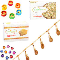 Diwali Hampers Soan Papdi And Ice Halwa With Set  Of 10