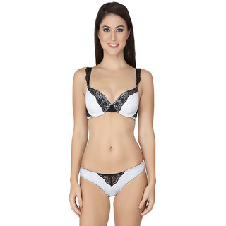 5c54e95158e8ef Buy Soie Mesh Coloured Wired Padded Bra and matching panty Online - Get 0%  Off