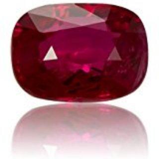 AJ Retail  GEMS Burma Ruby / Manik Lab Certified Natural Gemstone 6.25 Ratti