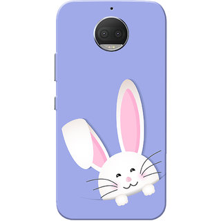 Moto G5s Plus Case, Baby Bunny Blue Slim Fit Hard Case Cover/Back Cover for Motorola Moto G5s Plus
