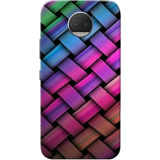 Moto G5s Plus Case, Rainbow Pattern Slim Fit Hard Case Cover/Back Cover for Motorola Moto G5s Plus