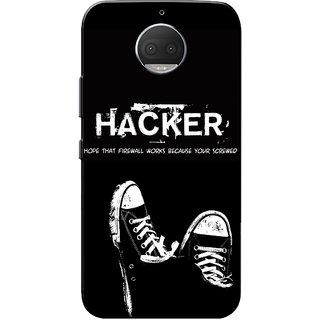 Moto G5s Plus Case, Hacker Slim Fit Hard Case Cover/Back Cover for Motorola Moto G5s Plus