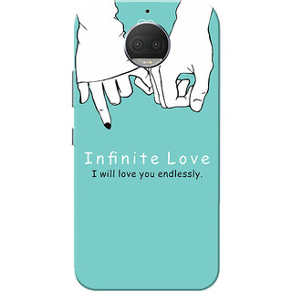 Moto G5s Plus Case, Infinite Love Slim Fit Hard Case Cover/Back Cover for Motorola Moto G5s Plus