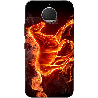 Moto G5s Plus Case, Burning Horse Slim Fit Hard Case Cover/Back Cover for Motorola Moto G5s Plus