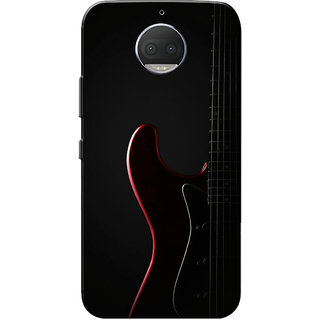 Moto G5s Plus Case, Guitar Black Slim Fit Hard Case Cover/Back Cover for Motorola Moto G5s Plus