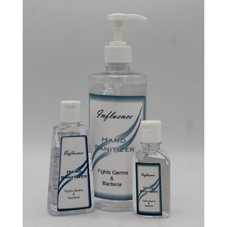 Influence Hand Sanitizer Combo 500ml 100ml and 50ml