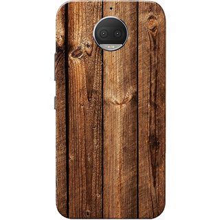 sale retailer 6f057 a156e Moto G5s Plus Case, Dark Brown Wood Slim Fit Hard Case Cover/Back Cover for  Motorola Moto G5s Plus