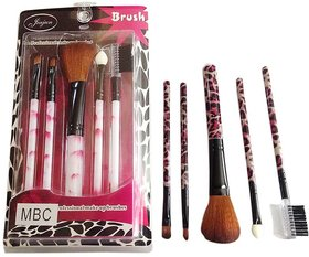 5 PC's PROFESSIONAL MAKEUP BRUSH SET