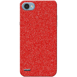 official photos 20b9b 07873 LG Q6 Case, Sparkle Red Slim Fit Hard Case Cover/Back Cover for LG Q6