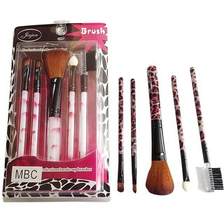 buy 5 pc's professional makeup brush set online  get 68 off