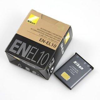 Buy Nikon EN-EL10 Li-ion Battery For Coolpix S210 S520 S60 S4000 S3000 S740 S570 Online - Get 57% Off