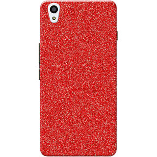 huge selection of 793b4 a6902 OnePlus X Case, One Plus X Case, Sparkle Red Slim Fit Hard Case Cover/Back  Cover for OnePlus X