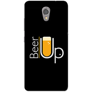 cheap for discount b7dd9 e350f Lenovo P2 Case, Beer Up Black Slim Fit Hard Case Cover/Back Cover for  Lenovo Vibe P2