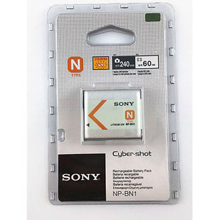 SONY NP BN1 NP BN1 BATTERY FOR SONY CYBERSHOT DIGITAL CAMERAS WITH WARRANTY