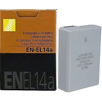 Nikon En el14a Rechargeable Li on 7.4v Battery For Niko