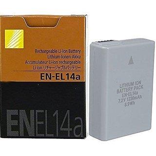 Nikon En-el14a Rechargeable Li-on 7.4v Battery For Nikon Camera + Warranty