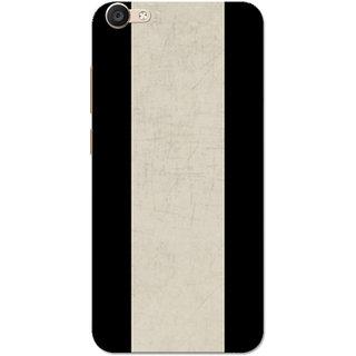 Vivo Y66 Case, Vivo V5 Lite Case, Vertical Lines Black Slim Fit Hard Case Cover/Back Cover for V5 Lite/Vivo Y66