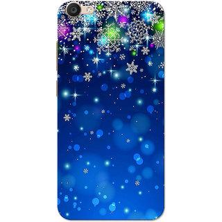 brand new 60ba1 e5395 Vivo Y66 Case, Vivo V5 Lite Case, Blue Stars Slim Fit Hard Case Cover/Back  Cover for V5 Lite/Vivo Y66