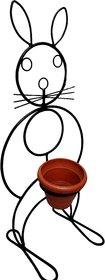 Bunny Iron Flower Pot Stand/Holder