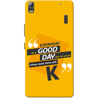 newest 1d175 95b58 Lenovo K3 Note, Lenovo A7000, Lenovo A7000 Plus Name Starts With K Yellow  Orange Slim Fit Hard Case Cover/Back Cover for Lenovo K3 Note/A7000/A7000  ...