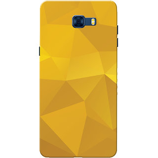 factory authentic ffebc d8b47 Galaxy C7 Pro Case, Yellow Shade Crystal Print Slim Fit Hard Case  Cover/Back Cover for Samsung Galaxy C7 Pro
