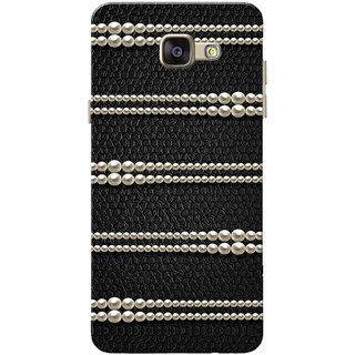 new arrival bc7e8 a6ab5 Galaxy A5 2016 Case, Galaxy A5 (2016) Duos Case, Galaxy A510FD Case, Pearls  Black Slim Fit Hard Case Cover/Back Cover for Samsung Galaxy A5 (2016) ...