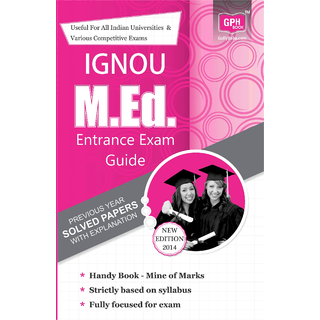 IGNOUM.EdEntranceExamGuide(IGNOU Help book for M.Ed. Entrance Guide English)2015