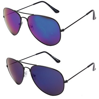 Eddy'S Blue Reflector Shaded Combo Buy One Get One Free