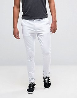 culture white(PJC)  Nerrow Fit  casual  Trousers For Men