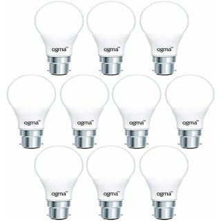 Ogma 9W LED Bulb Cool Day Light - Pack of 10