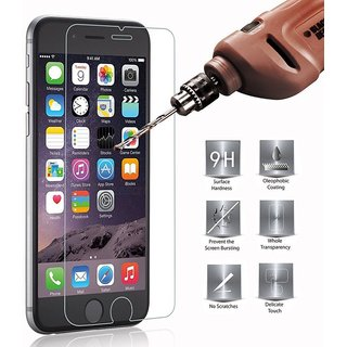 Anti Explosion Tempered Glass 9H Hardness Ultra Clear Anti-Scratch Bubble Free Anti-Fingerprints for iphone 7