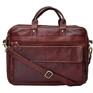 Hide And Knee Laptop Briefcase Unisex