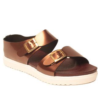 5528c807253 Buy MSC Women S Copper Sandals Online - Get 61% Off
