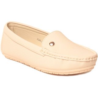 MSC WomenS White Loafers